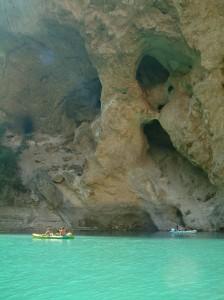 kayac dans les Gorges du Verdon