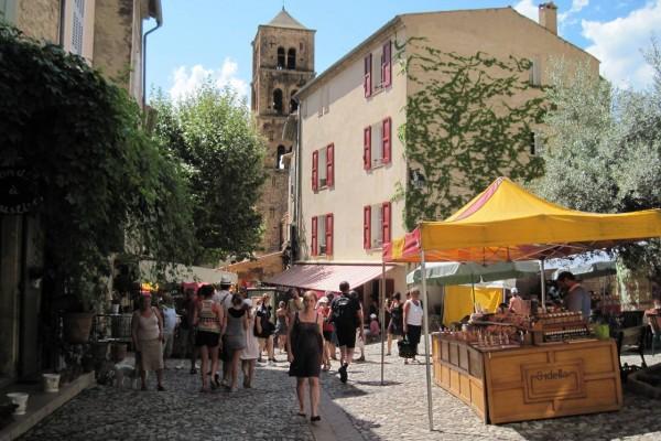 Le marché place Pomey