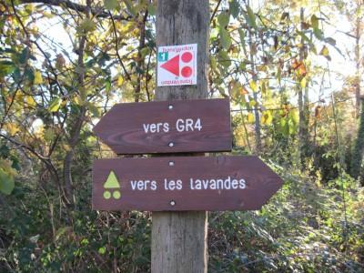 Sentier de randonnées GR 4